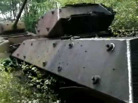 Shermans in the Forrest - Meucon, France (2 of 3)