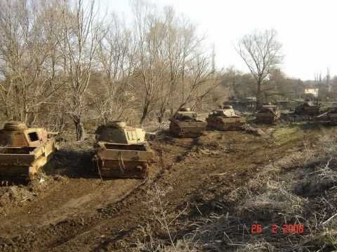 Panzer Relics in Bulgaria