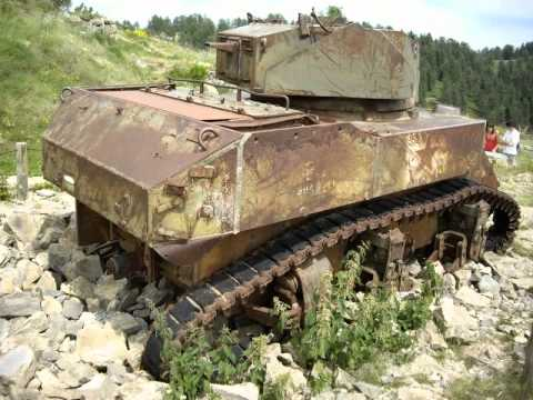 Tank Wrecks in Sainte-Croix-en-Plaine and...