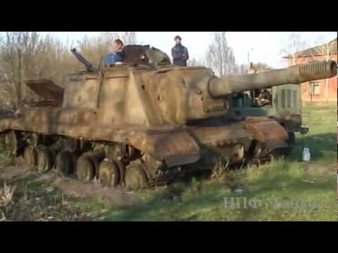 SU-152 recovery