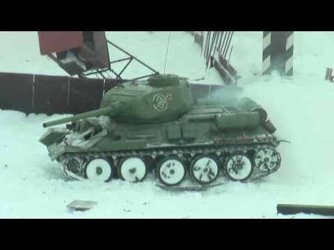RC TANKS. Winter War . 1:6 scale.HD.mp4